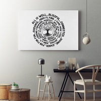 ABC FEEL GOOD Tree of Life Abraham-Hicks Inspired Decor - Landscape Luxury High Quality Canvas Wall Art-YogaStatement.com
