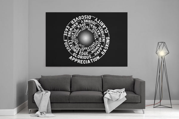 ABC FEEL GOOD Vortex Abraham-Hicks Inspired - Landscape Luxury High Quality Canvas Wall Art-YogaStatement.com