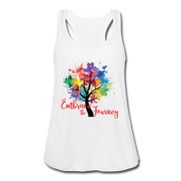EMBRACE THE JOURNEY Women's Flowy Tank Top by Bella - SP-YogaStatement.com