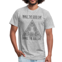 INHALE THE GOOD SHIT * Unisex Jersey T-Shirt - SP - heather gray