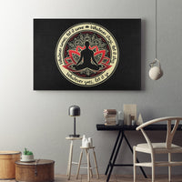 WHATEVER COMES Buddha Meditation - Landscape Luxury High Quality Canvas Wall Art-YogaStatement.com