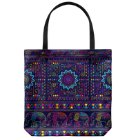 "Yoga Art Tote Bag 18"" X 18"" - BALI-YogaStatement.com"