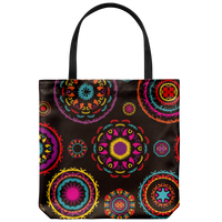 "Yoga Art Tote Bag 18"" X 18"" - DANCE-YogaStatement.com"