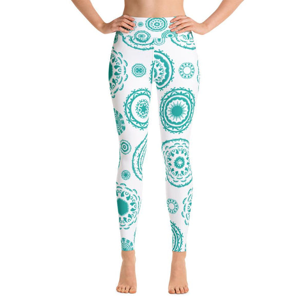 Yoga Leggings MINTY-YogaStatement.com