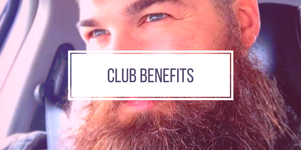 Monthly beard club benefits