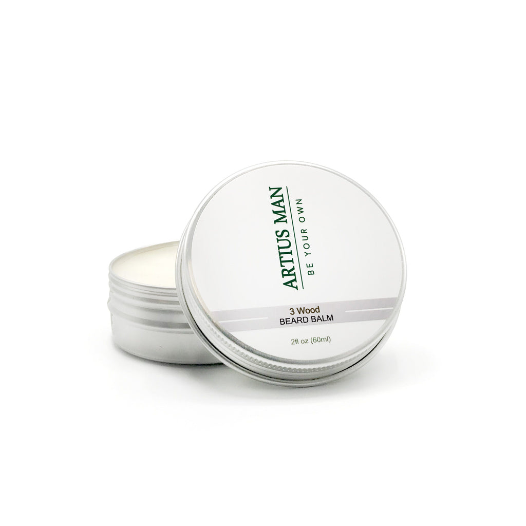 3 Wood Beard Balm - Artius Man