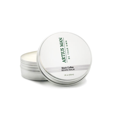 Black Coffee Beard Balm - Artius Man