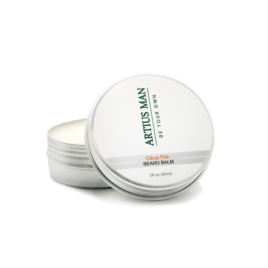 Citrus Fire Beard Balm - Artius Man