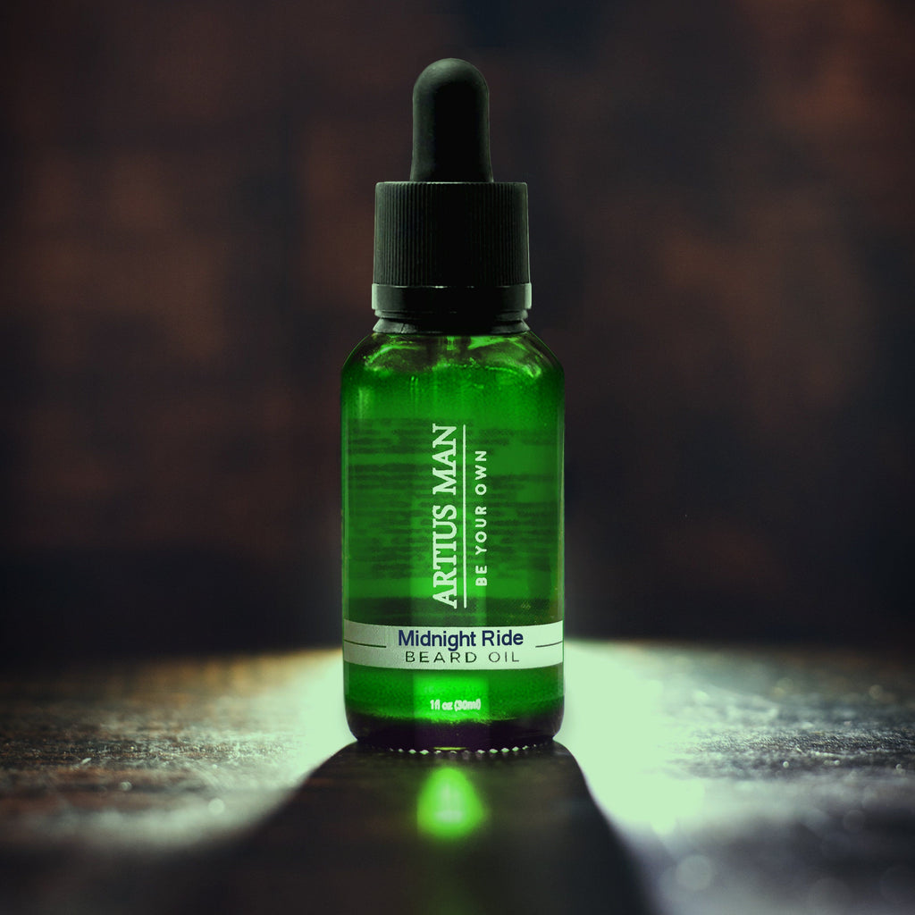 Midnight Ride Beard Oil - Artius Man