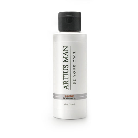Bay Rum Beard Wash - Artius Man