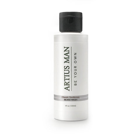 Classic Gentleman: Sandalwood Beard Wash - Artius Man