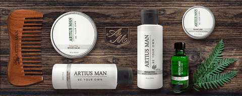 Build Your Own Beard Kit: Select 3 Or More Items - Artius Man