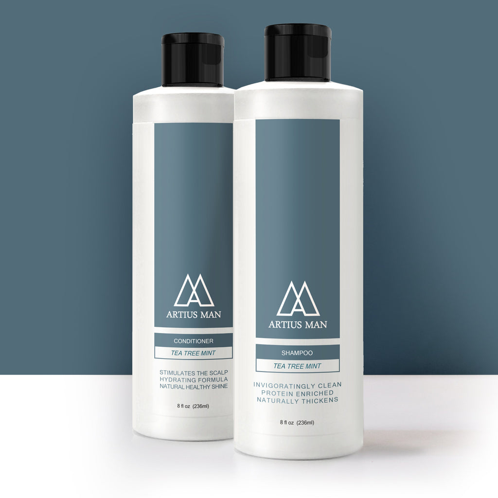 Shampoo & Conditioner Set - Tea Tree Mint
