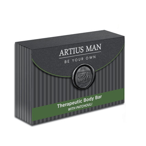 Therapeutic Body Bar -  Patchouli - Artius Man