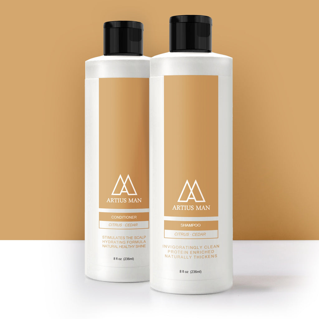 Shampoo & Conditioner Set - Citrus Cedar