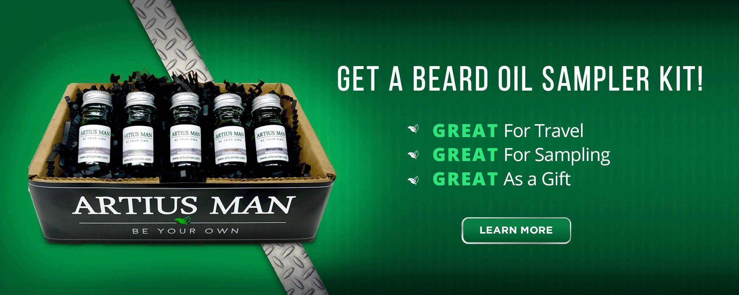 Beard Oil Sampler Kit