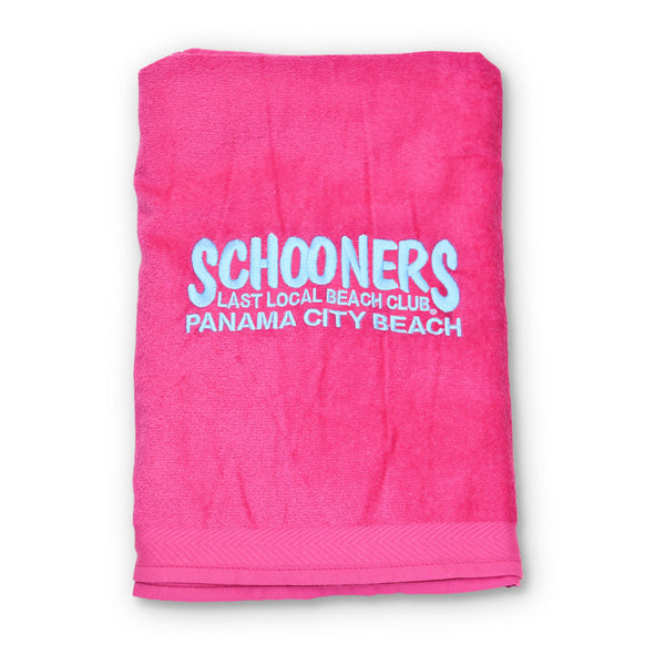 Plush Beach Towel