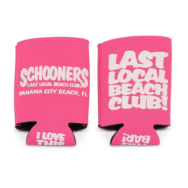LAST LOCAL BEACH CLUB CAN KOOZIES