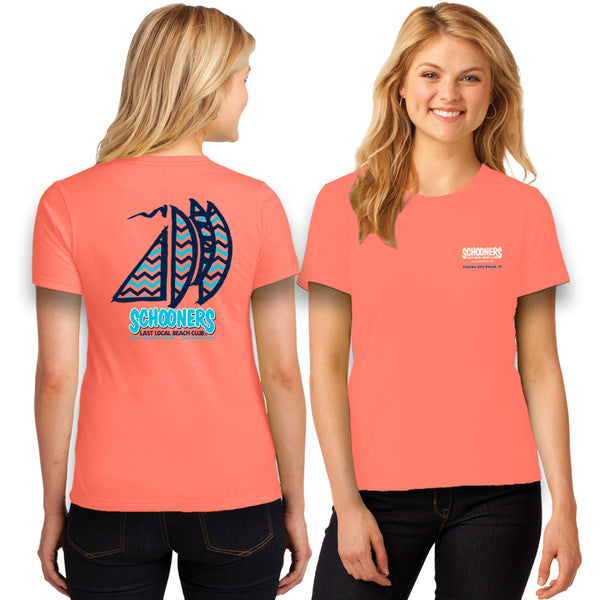 Chevron Sailboat T-Shirt