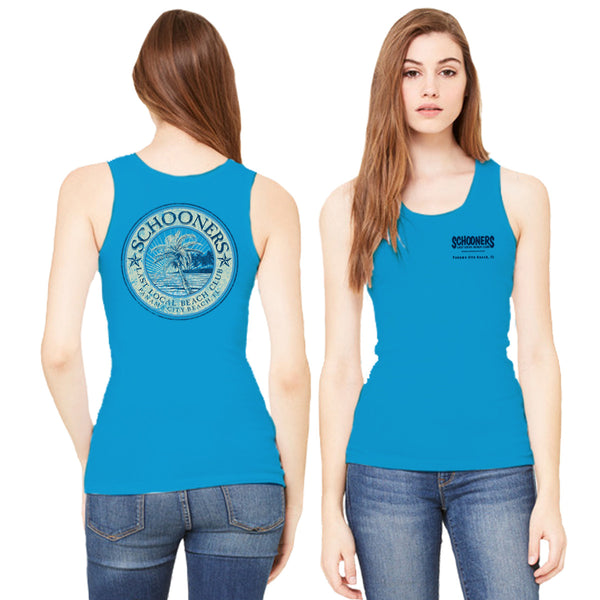 Palm Tree Ladies' Tank Top