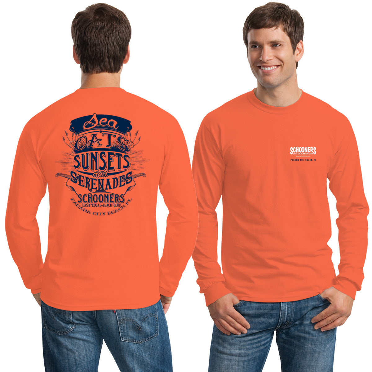 Sea Oats, Sunsets and Serenades Longsleeve T-Shirt