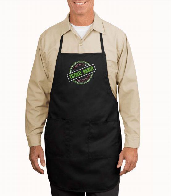 Apron - Full Length - Embroidered