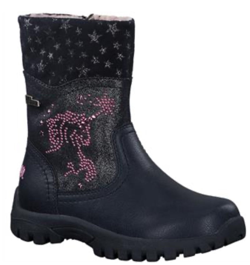 S.Oliver Girls Zip Unicorn Boot 36427 805 - Finn Footwear