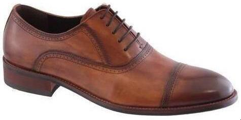 Morgan & Co Mens Leather Brown Toe Cap MGN0700 - Finn Footwear