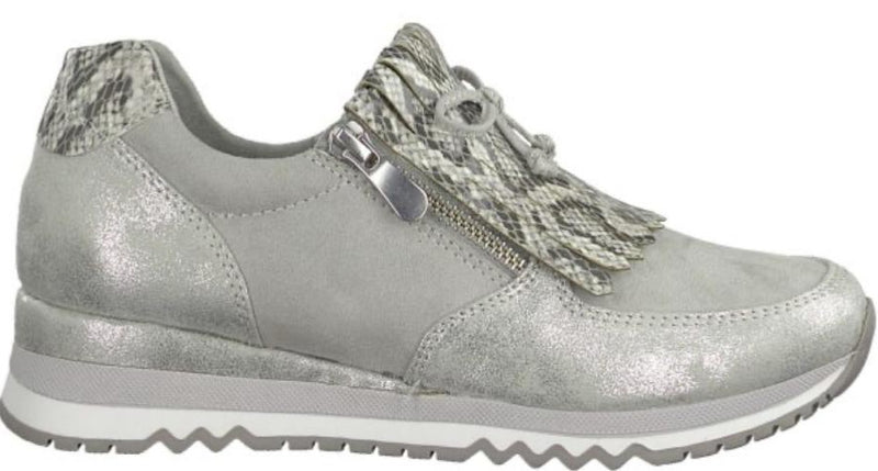 Marco Tozzi Ladies Grey Comb. Athleisure Shoe 24702-34 - Finn Footwear