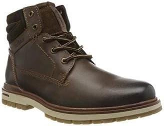 S.Oliver Men's Brown Laced Boot 15207 - Finn Footwear