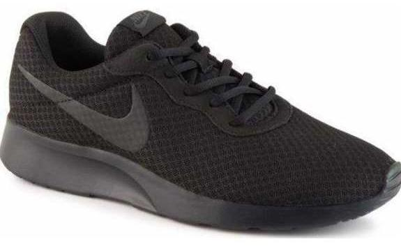 Nike Tanjun All Black Mens Trainer 812654 - Finn Footwear