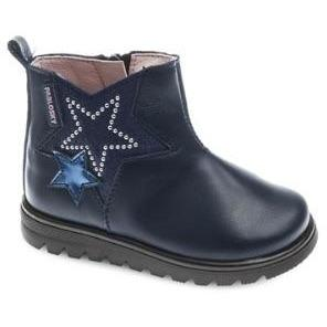 Pablosky Girls Side Zip Boot Star Boot 065725 - Finn Footwear