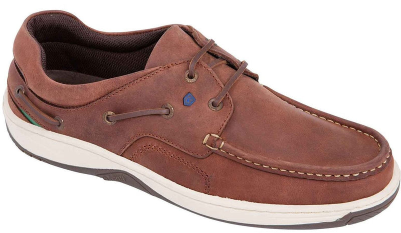 Dubarry Navigator Brown Mens Deck Shoe - Finn Footwear