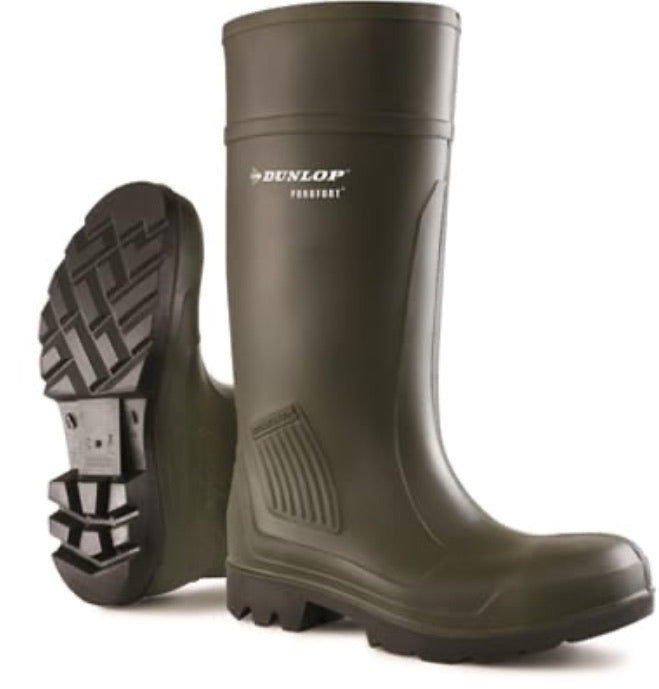 Dunlop Men's Purofort Safety Wellington