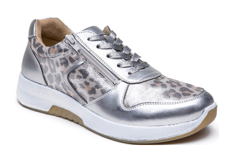 Grunwald G Comfort Ladies Laced Stretch Shoe 5188-1