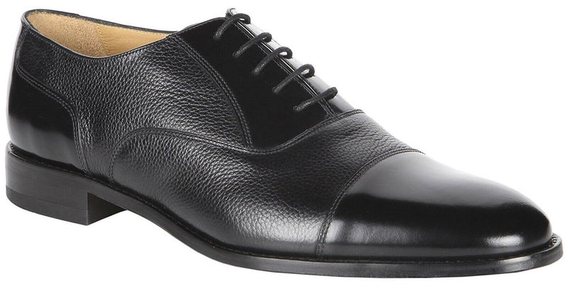 Loake Bibury Men's Black Formal Shoe - Finn Footwear