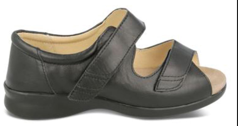 Easy B Bliss Ladies EE Velcro Sandal
