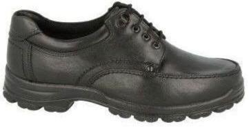 Easy B Hebden Men's Black Laced Extra Wide Shoe - Finn Footwear
