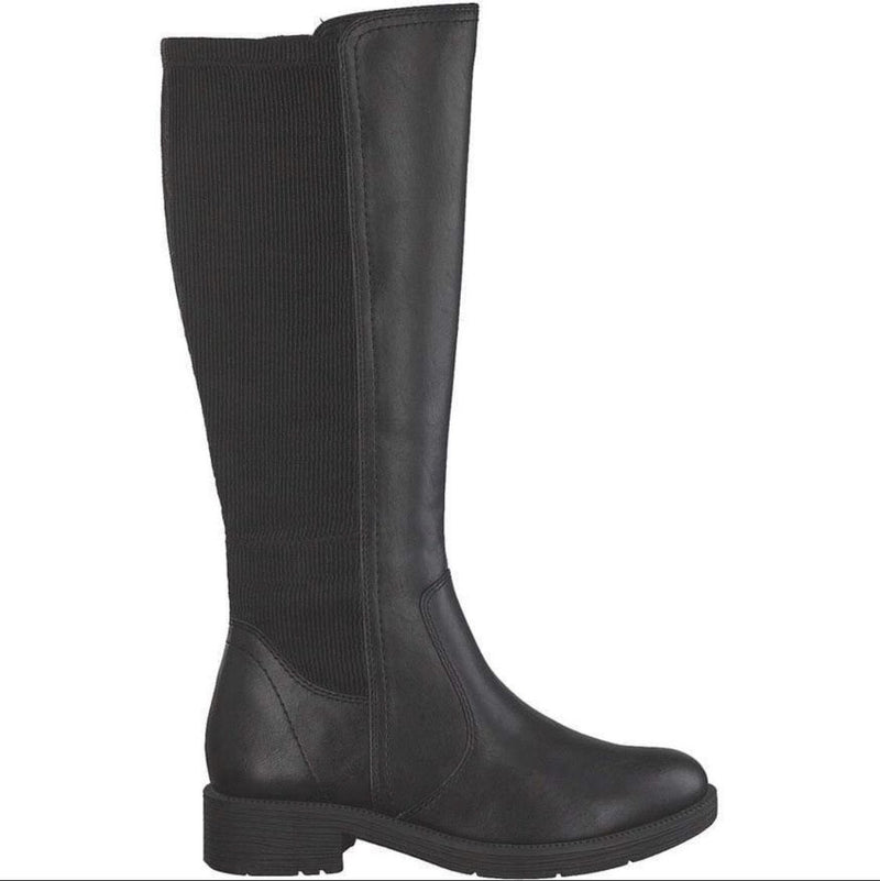 Jana Softline Ladies Knee High Boot 25560 001 - Finn Footwear