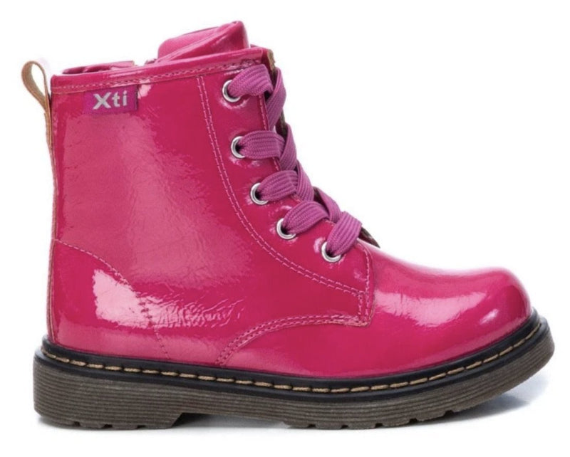 Xti Girls Doc Patent Boot 54708 - Finn Footwear