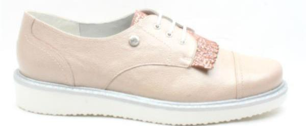 Inea Ladies Rose Brogue Shoe Feline - Finn Footwear