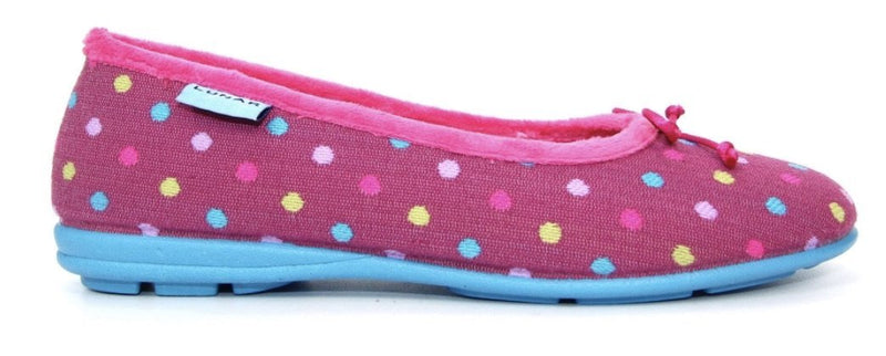 Lunar Starling Ladies Ballerina Slipper - Finn Footwear