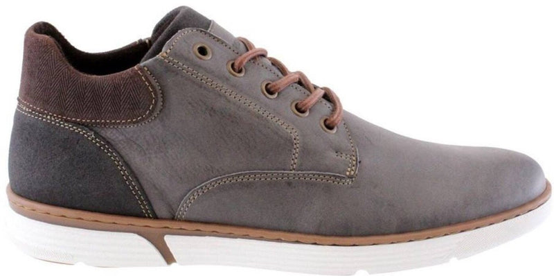 Morgan & Co. Men's Grey Lace Up Boot MGN0836 - Finn Footwear