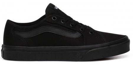 Vans Filmore Decon Girls Black Trainer - Finn Footwear