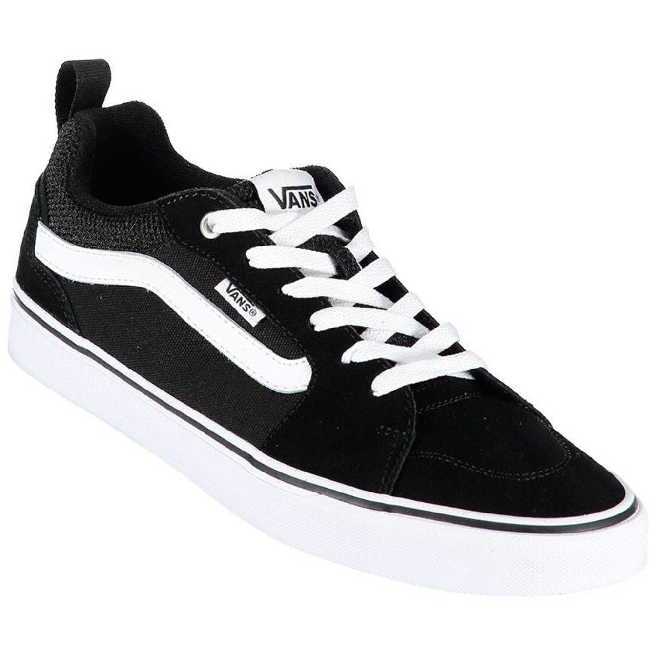 Vans Filmore Black White Kids Old Skool Trainer