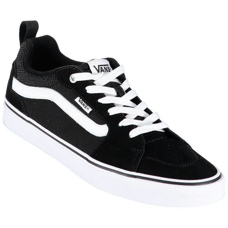 Vans Filmore Black White Kids Old Skool Trainer - Finn Footwear
