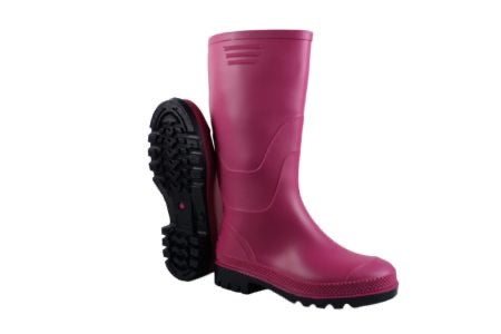Rural Ladies Pink Wellington 901P