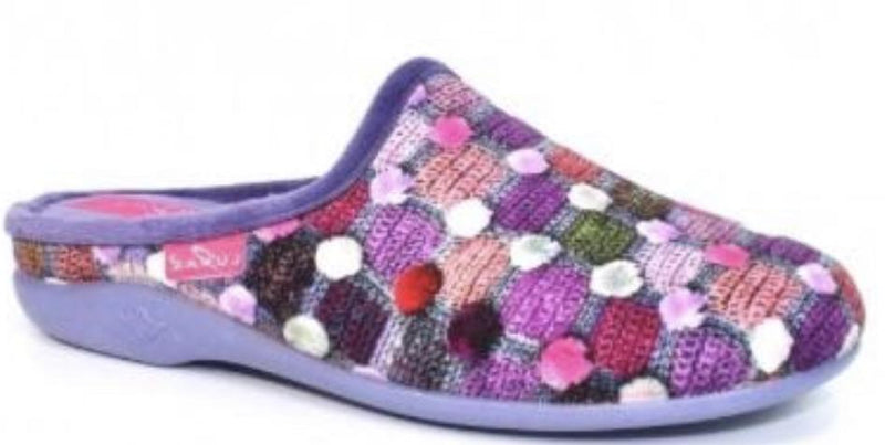 Lunar Crackle Ladies Mule slipper KLA096 - Finn Footwear