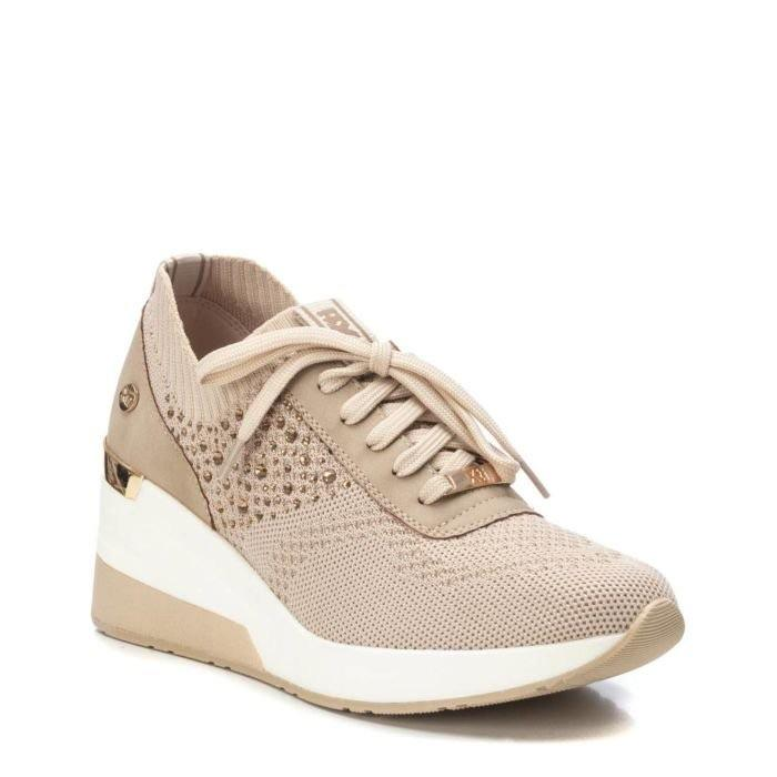 Xti Ladies Wedge Athleisure Shoe 42593 - Finn Footwear