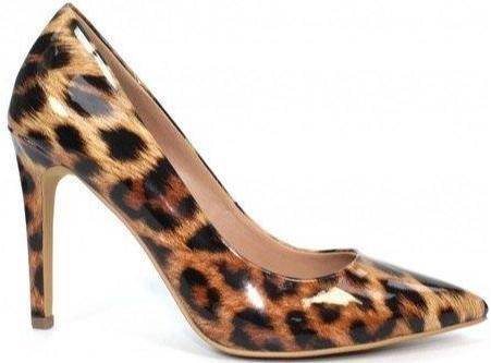 Lunar Ladies Animal Print Court Shoe Beckett - Finn Footwear